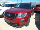 2019 Ruby Red Ford Explorer Sport 4WD #132538027