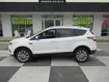 2018 White Platinum Ford Escape Titanium 4WD #132537958