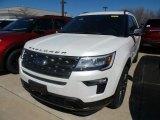 2019 White Platinum Ford Explorer XLT 4WD #132538000