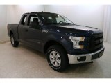 2016 Blue Jeans Ford F150 XL SuperCab 4x4 #132538051