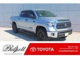 2019 Silver Sky Metallic Toyota Tundra TSS Off Road CrewMax #132537949