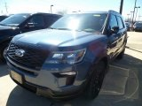 2019 Blue Metallic Ford Explorer Sport 4WD #132538037