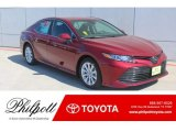 2019 Ruby Flare Pearl Toyota Camry LE #132537945
