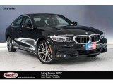 2019 Jet Black BMW 3 Series 330i Sedan #132552179