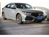 2019 Sonic Gray Pearl Honda Civic LX Hatchback #132552106