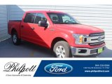 2018 Race Red Ford F150 XLT SuperCrew #132552159