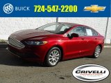 2017 Ruby Red Ford Fusion S #132552227
