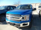 2019 Velocity Blue Ford F150 XLT SuperCrew 4x4 #132552326