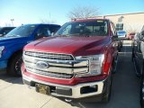 2019 Ruby Red Ford F150 Lariat SuperCrew 4x4 #132552325