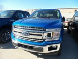 2019 Velocity Blue Ford F150 XLT SuperCrew 4x4 #132552311