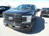 2019 Agate Black Ford F150 Lariat SuperCrew 4x4 #132552303