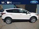 2019 White Platinum Ford Escape SE 4WD #132552133