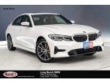 2019 Mineral White Metallic BMW 3 Series 330i Sedan #132552181