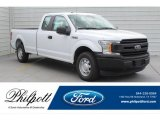 2019 Oxford White Ford F150 XL SuperCab #132581345