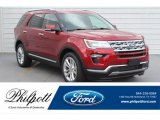 Ruby Red Ford Explorer in 2019