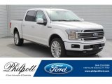 2019 White Platinum Ford F150 Limited SuperCrew 4x4 #132581339