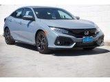 2019 Sonic Gray Pearl Honda Civic Sport Touring Hatchback #132581236
