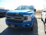 2019 Velocity Blue Ford F150 XLT SuperCrew 4x4 #132581478