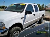 2004 Oxford White Ford F250 Super Duty XLT Crew Cab 4x4 #13243503