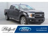2019 Agate Black Ford F150 XLT SuperCrew 4x4 #132581349