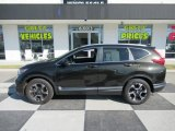 2017 Dark Olive Metallic Honda CR-V Touring AWD #132607994