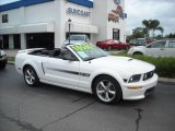 2007 Performance White Ford Mustang GT/CS California Special Convertible #13235670