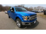 2019 Velocity Blue Ford F150 XLT SuperCab 4x4 #132626865