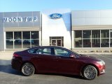 2017 Ruby Red Ford Fusion SE AWD #132637696