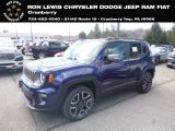 2019 Jetset Blue Jeep Renegade Limited 4x4 #132637546