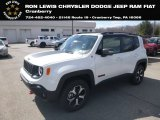 2019 Alpine White Jeep Renegade Trailhawk 4x4 #132637544
