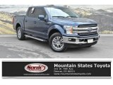 2018 Blue Jeans Ford F150 Lariat SuperCrew 4x4 #132661803