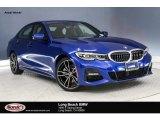 2019 Portimao Blue Metallic BMW 3 Series 330i Sedan #132661943