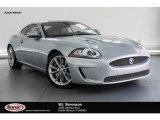 2010 Liquid Silver Metallic Jaguar XK XKR Coupe #132661895