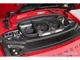 2018 Porsche 911 GT3 4.0 Liter DFI DOHC 24-Valve VarioCam Horizontally Opposed 6 Cylinder Engine