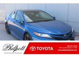 2019 Blue Streak Metallic Toyota Camry XSE #132661927
