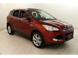2015 Sunset Metallic Ford Escape Titanium #132678772
