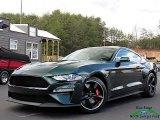2019 Dark Highland Green Ford Mustang Bullitt #132678409