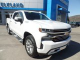 2019 Summit White Chevrolet Silverado 1500 High Country Crew Cab 4WD #132678530