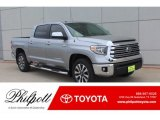 2019 Silver Sky Metallic Toyota Tundra Limited CrewMax #132678664