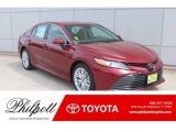 2019 Ruby Flare Pearl Toyota Camry XLE #132678662