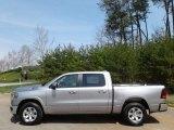 2019 Billett Silver Metallic Ram 1500 Laramie Crew Cab 4x4 #132705658