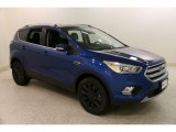 2017 Lightning Blue Ford Escape Titanium 4WD #132725436
