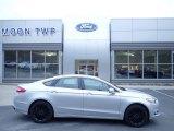 2016 Ingot Silver Metallic Ford Fusion SE AWD #132725359