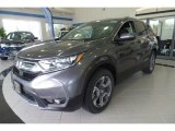 2019 Modern Steel Metallic Honda CR-V EX AWD #132725473