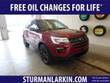 2019 Ruby Red Ford Explorer XLT 4WD #132725307