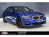 2019 Portimao Blue Metallic BMW 3 Series 330i Sedan #132725386