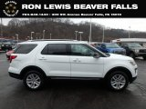 2019 Oxford White Ford Explorer XLT 4WD #132725291