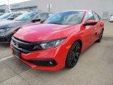 2019 Rallye Red Honda Civic Sport Sedan #132743310