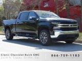 2019 Black Chevrolet Silverado 1500 LT Crew Cab 4WD #132743254