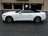 2016 Oxford White Ford Mustang EcoBoost Premium Convertible #132743326